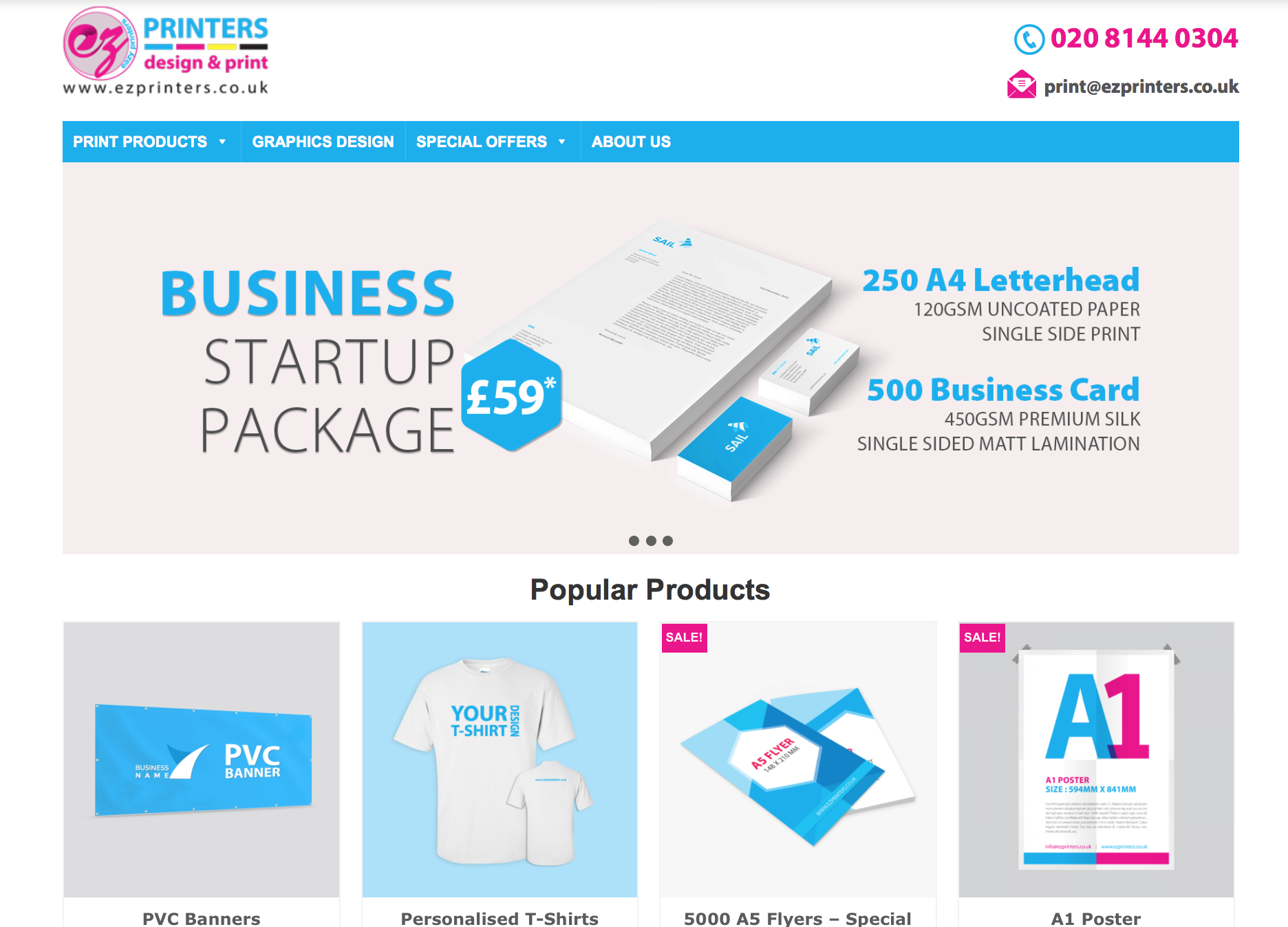 EZ-Printers - All in One Business Platform for All Printing Needs